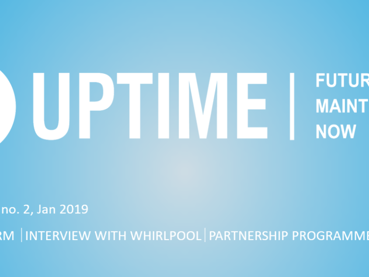 UPTIME 2nd Newsletter – Edition 2019/01